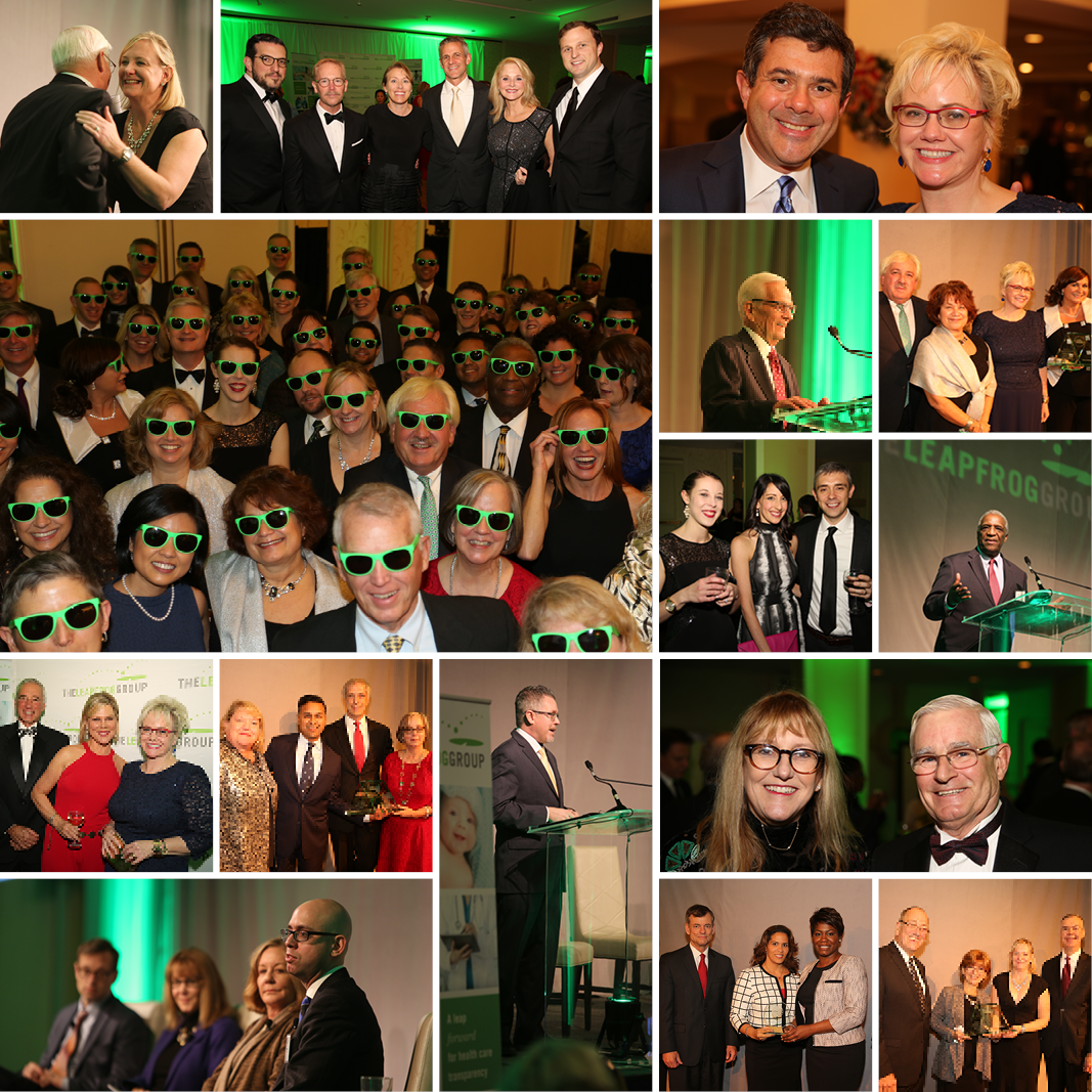 2015 Living the Vision Gala collage
