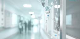 IV Drip in Hallway