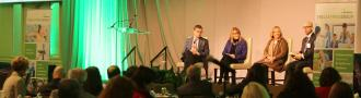 Leapfrog's 2015 Annual Meeting speakers on stage